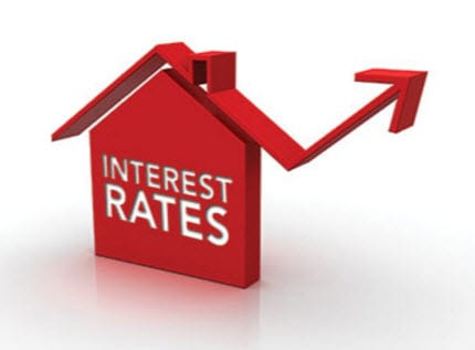 Image result for rising interest rates